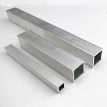 6063 Square Metal Aluminium AL Tube Pipe 10x10mm 20x20mm Customized Length DIY Material for Model Part Accessories DIY Car Frame