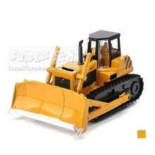 High Simulation Exquisite Children Model Toys: Scale Models Crawler Bulldozer Truck Model 1:48 Alloy Truck Model Excellent Gifts(China)