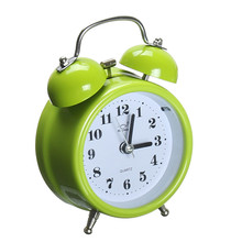 Charminer Portable Fashion Classic Silent Double Bell Alarm Clock Quartz Movement Bedside Night Light Hot Sale(China)
