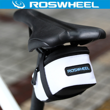 ROSWHEEL Bicycle Tail Bag Cycling Saddle Back Seat Pouch Package Bike Panniers Sport Folding Bike Basket Bicycle Accessorie()