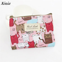 Women Girls Cute Coin Purse Mini Fashion Snacks Coin Purse Wallet Change Pouch Key Holder Bag carteira feminina(China)