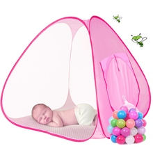 Lovely Baby Play Tent Child Kids Indoor Outdoor House Large Portable Ocean Balls Great Gift Games Playing Tent without Ball(China)
