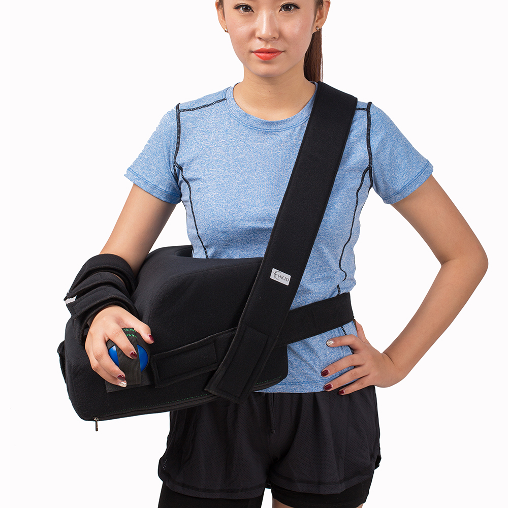 Shoulder Abduction with Pillow Arm Sling Arm Brace Support Free Size Right and Left are Divided<br>