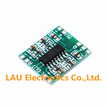 1pcs/lot PAM8403 Super mini digital amplifier board 2 * 3W Class D digital amplifier board efficient 2.5 to 5V USB power supply(China)