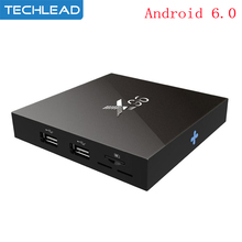 X96 Android 6.0 TV Box 2GB RAM 16GB ROM Amlogic S905x Quad Core Smart Set Top Box 2.4G Network WIFI Streaming Media Player 4K HD(China)