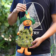 NEW 2017 Halloween Doll Straps Children Gifts Scene Decorations Witch Pumpkin Ghost Strap Ornaments Dropshipping 70824(China)