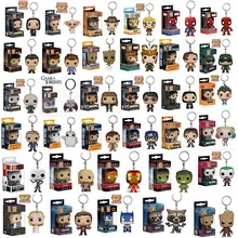 Marvel Funko Pop Suicide Squad Game of throne Walking Dead Rick Harry Potter  Naruto Vegeta Goku Dragon Ball Keychain Funko Pop