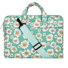 MOSISO Bohemian Flower Designer Notebook Shoulder Bag Messenger For Macbook /Acer/Asus Laptop Computer PC Cover Case Briefcase