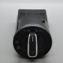Chrome Euro Headlight Switch For VW Volkswagen New Beetle(Hong Kong)