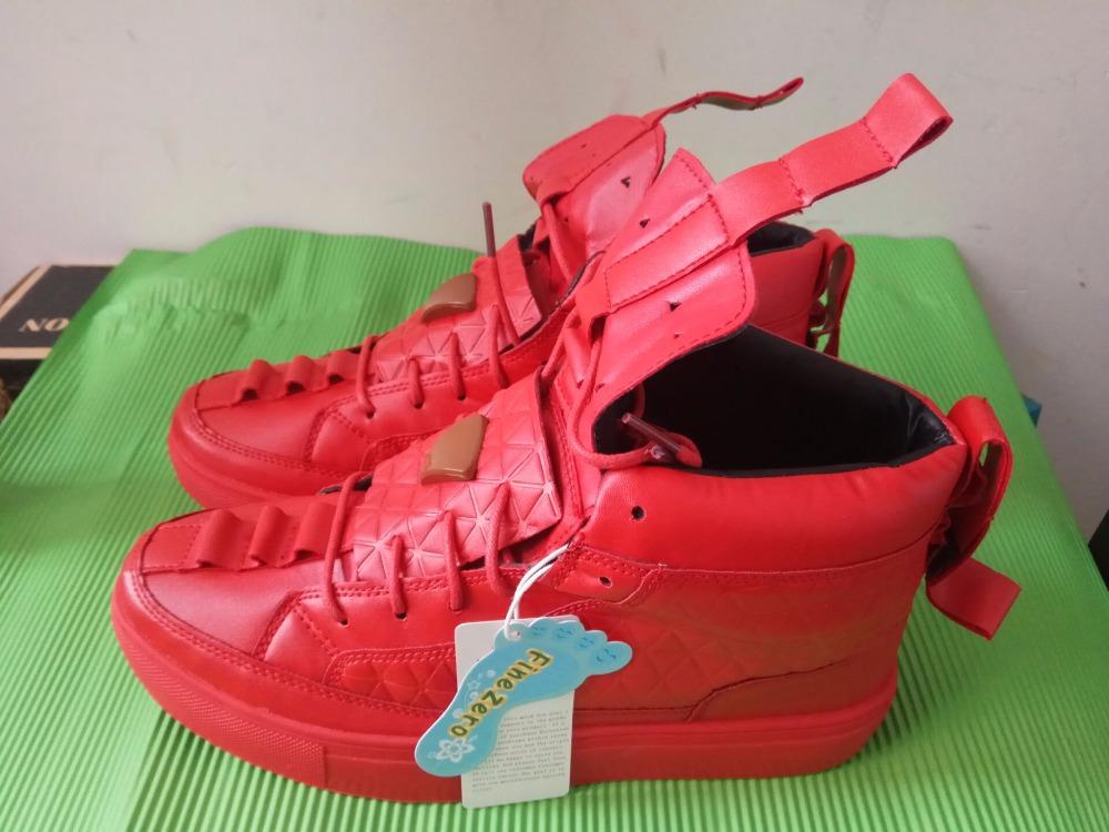 17 New Spring Autumn British Style Men Shoes Casual Shoes Men High Tops Fashion Hip Hop Shoes Zapatos De Hombre Mens Shoes 2