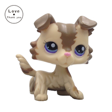 Pet Shop lovely animal toy kids cute gift dog COLLIE #2210 free shipping
