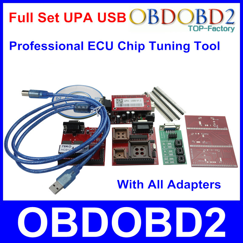 2016 Hot Selling UPA USB Programmer ECU Chip Tuning Tool UPA V1.3 Full Set With All Adapters UPA-USB Serial Programmer In Stock<br><br>Aliexpress