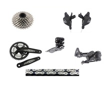 Entry level bicycle Groupset Drivetrain3X8 speed 24speed group set Mountain bike Groupset Group Set bike bicycle parts(China)