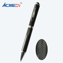 ACMECN Hot Sale original Design Metal Heavy Pen with Full Carbon Fiber High Quality Office Luxurious Unisex Writing Ball Pens(China)