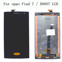 "For OPPO Find 7 X9007 7A X9006 LCD Display Touch Screen Digitizer Assembly Replacement 1920x1080 For 5.5"" OPPO X9007 Display(China)"