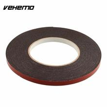 Vehemo New Double Sided Car Truck Vehicle Trim Moulding & Badge Foam Sticky Tape Strong Adhesive 6mmx10m Heavy Duty(China)