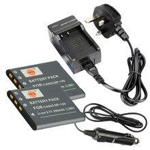 DSTE 2 шт. NP-120 Батарея + путешествия и автомобильное Зарядное устройство для Casio Exilim ex-s200 ex-z31 EX-Z680 ex-z690 EX-ZS10 EX-ZS15 ex-zs20(China)