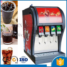 3 pumps CE ISO certified one year warranted3 pumps coke dispenser Coke Post Mix Soda Fountain Dispenser with 4 volves(China)