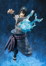 15cm Naruto Shippuden Uchiha Sasuke Action Figures Anime PVC brinquedos Collection Model toys with Retail box Free shipping(China)