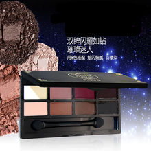 8 Different New fashion 8 Earth Colors Matte Pigment Eyeshadow Palette Cosmetic Makeup set Eye Shadow for women