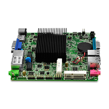 Dual Lan 4*Serial Port Motherboard with Celeron J1800 Dual core DC 12V Dual display 12*12 CM ATM, Advertising Machine Board