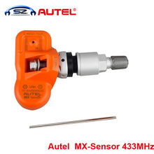 Original Autel TPMS Sensor MX-Sensor 433MHz Universal Programmable TPMS Sensor Specially for Tire Pressure Sensor Replacement