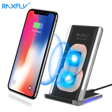 QI Wireless Charger RAXFLY Phone Charger For Samsung S8 Plus S7 S6 Edge Note 8 5V/1A Fast Charging Holder For iPhone X 8 /8 Plus(China)