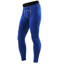 Mens Compression Pants Solid Color Long Sexy Tight Pants Low Rise Elastic Spandex Tights Men Black Boys Jogger Leggings