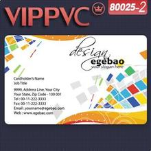 80025-2 Business name Card Template for Design and Printing PVC business card