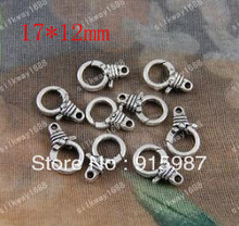 Sweet Bell 50PCS/lot 17*12mm lobster clasp, buckle bags buckle design restoring ancient ways lobster clasp accessories