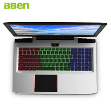 "BBEN G16 15.6"" Windows 10 Intel I7-7700HQ CPU NVIDIA GTX1060 GDDR5 6GRam 16G DDR4 RJ45 HDMI Wifi BT4.0 Backlit keyboard Laptop(China)"