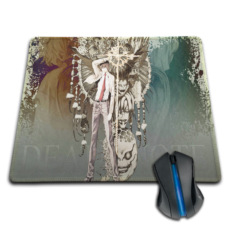 Babaite Drop Shipping Rubber Mousepad Japanese manga Death Note Gaming Pad Necessary Mouse Mat Mouse Pad Non-Skid Rubber Pad(China)