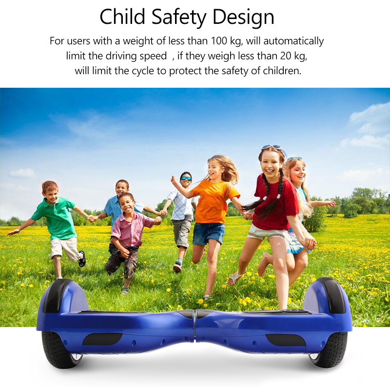 Hoverboards Self Balance Kick Gyroscoot Electric Scooter Skateboard Oxboard Electric Hoverboard 6.5 inch Two Wheels Hover board