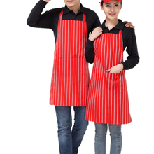 Women Men Apron Chef Waiter Aprons Bib Pinafore Nylon Sleeveless Apron With Pockets For Restaurant Kitchen Cooking Shop Art Work