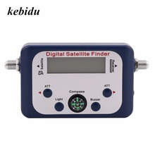 kebidu Digital Satellite Finder SF-95DR Meter Satlink Receptor TV Signal Receiver Sat Decoder DVB-T2 DISH COMPASS FTA(China)