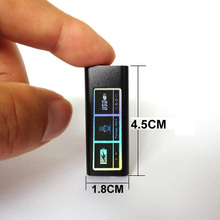 Momomo Metal Mini Digital Voice Recorder Global Smallest with Built-in Li-ion battery digital MP3 Player SK892(China)