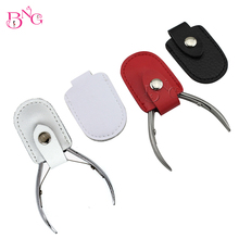 BNG 3pcs Nipper Cover Protective Sleeve Nail Cuticle Scissors Manicure Pedicure Tools kits Dead Cuticle French Trimmer Protecter(China)