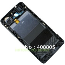 Free shipping, Original new Battery Door Back Cover Housing Genuine For Motorola Razr I XT890 with buzzer jack side button