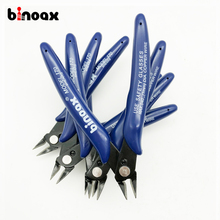 Binoax Practical Electrical Wire Cable Cutters Cutting Side Snips Flush Pliers Hand Tools #P00337#(China)