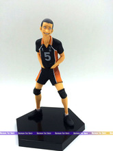 15cm Japanese anime figure tanaka ryunosuke haikyuu action figure kids toys for girls(China)