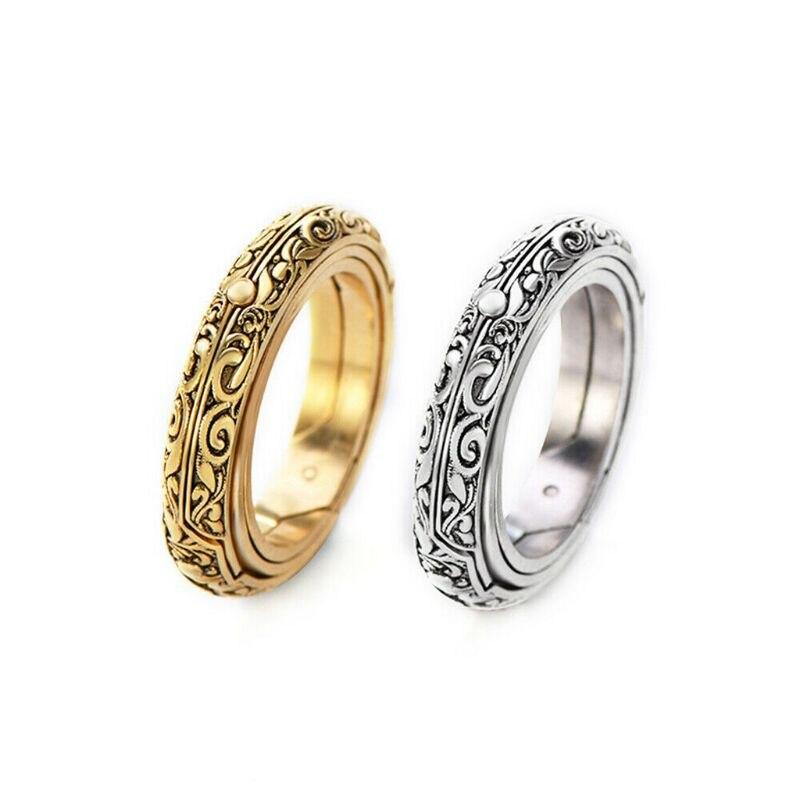 2020 Astronomie Sphere Boule Anneau Cosmic Finger Ring couple amoureux bijoux cadeaux