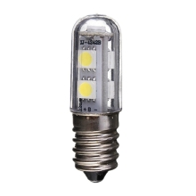 Hot Sale E14 1W 5050 SMD 7 LED White Warm White Corn Lights Bed Fridge Candle Lamp Spotlight Bedroom Bulb 220-240V