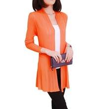 Women knitted Slim Fit Open Front Sweater Cardigan Ladies Long Sleeve Cardigans Shawl