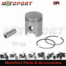 40mm For CPI Silver Plating  Aluminum Motorcycle Piston Kit with 1.5mm Ring