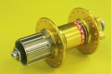 Novatec D042SB Disc Brake MTB Rear Hub 32 Holes Gold  O.L.D 135mm steel Cassette Body 491g Bicycle Parts