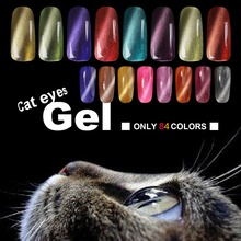 Candy Lover 3D Cat Eyes UV Gel Polish 8ml Soak Off LED UV Gel Nail Polish Magnetic Gel Lacquer Long-Lasting 84 Colors For Choose