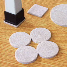 116Pcs Thickened Felt Chair Pads For Furniture Feet Legs Wool Roving Felting Protect Hardwood Flooring Preventing Noises Durable
