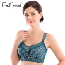 Buy Women Sexy bralette, big size lace underwear Push bras,e 80 85 90 95 100 B C D, Intimates Female Bra Tops lingerie