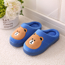 Children Slippers Girls Boys Baby Home Shoes Winter Indoor Warm Cotton Cartoon Cute Kids Slippers Baby Toddler shoes