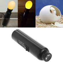 Bright Cool LED Light Egg Candler Tester for Chicken Quail Poultry Incubator Brooder Hatching Egg Tester Quality Handy Tool